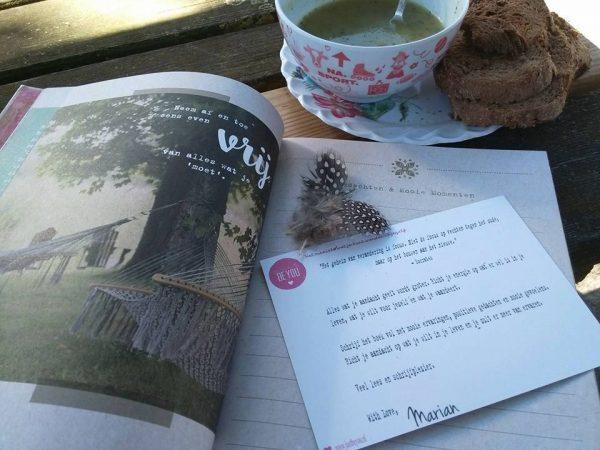 Boek Gedachten en Mooie Momenten van Marian Palsgraaf Just Be You