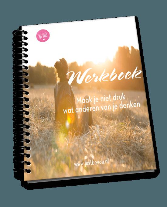 Werkboek Maak je niet druk wat anderen van je denken