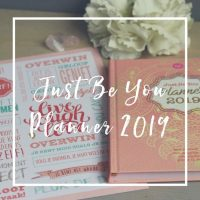 Just Be You Planner 2019 + manifesto