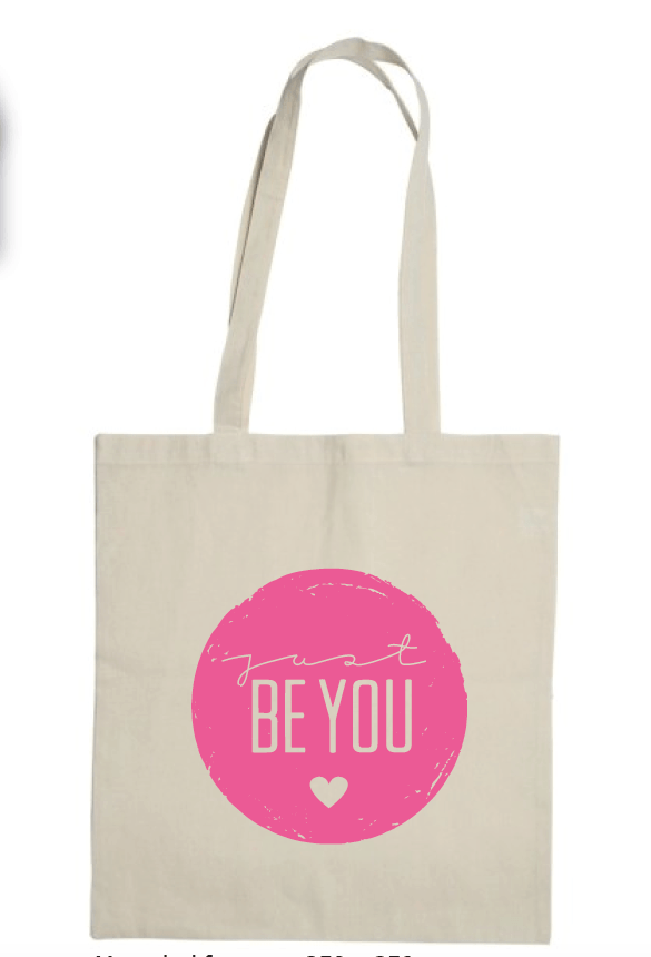 Canvas Just Be You tas