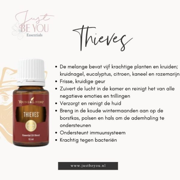 Just Be You Essentials Thieves Young Living