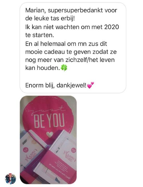 Just Be You Planner 2020