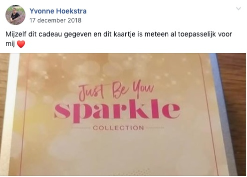 Just Be You Sparkle collection