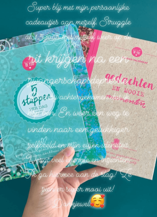 Review 5 stappen per dag, Just Be You