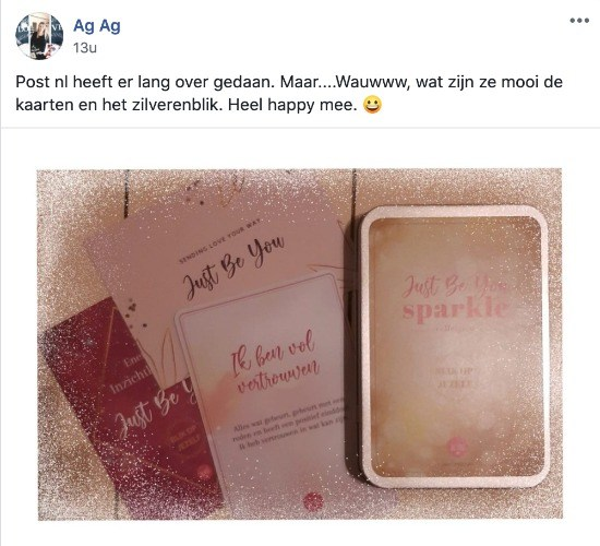 Review Blik op Jezelf - Just Be You - Affirmatie