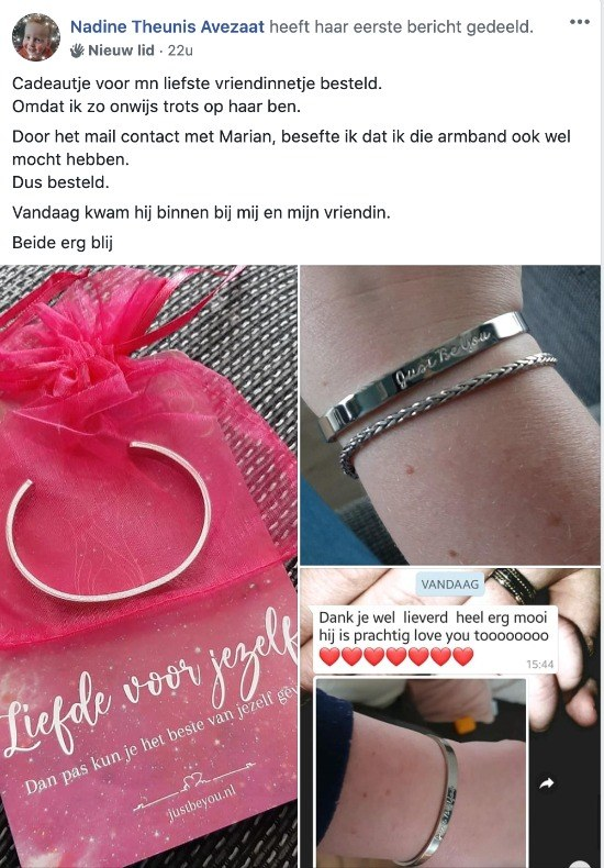 Review Just Be You Armband
