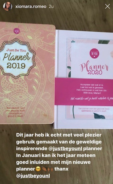 Review Just Be You Planner