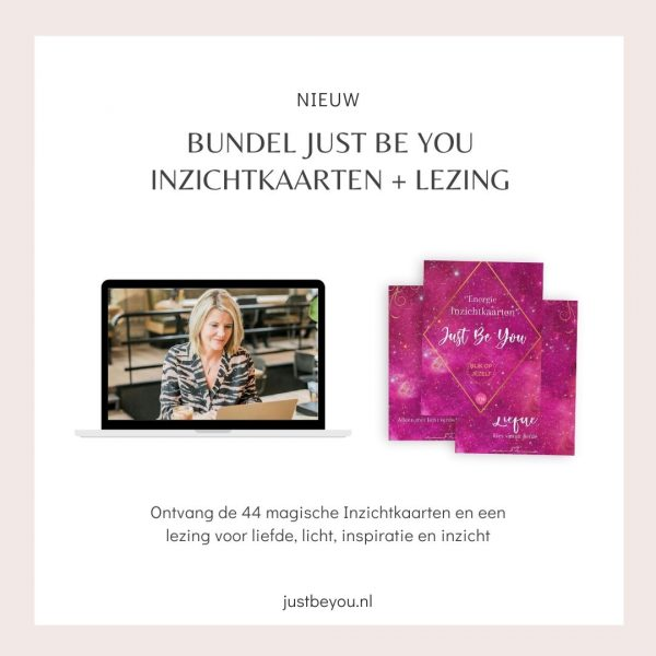 Bundel Just Be You Inzichtkaarten + Lezing