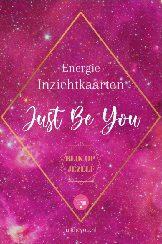 Inzichtkaarten Energie Just Be You Cover