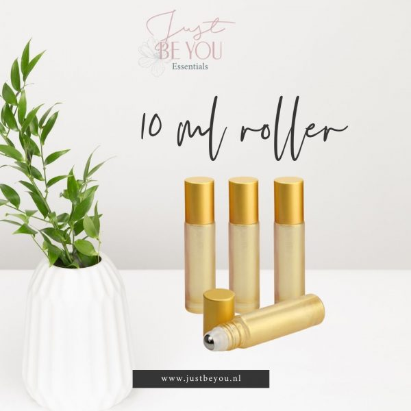 Roller 10 ml Parelmoer Goud Geel Just Be You