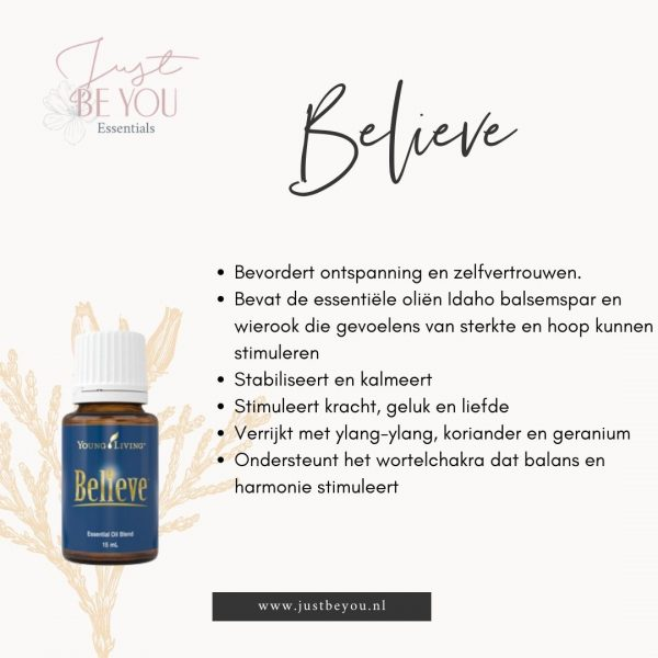 Believe Just Be You Essentials Young Living