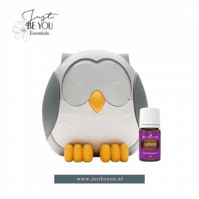 Feather the Owl Young Living Just Be You + Lavender
