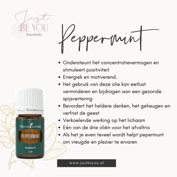Pepperming Just Be You Essentials Young Living